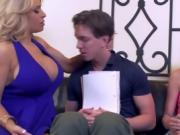 Stepmom Coaches Teen How To Suck A Big Cock