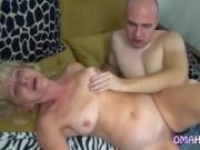 Blonde Grandma Micha Loves Porn