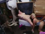 Gorgeous hot lesbian wants a cock in their pussy