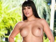 Beautiful Buxom Mercedes Carrera Takes a Wild Dick Ride