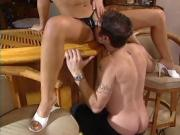 Adorable Blonde Babe Lets Him Lick And Fuck Her Silly
