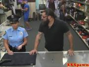 Sexy Police Officer Gets Boned In The Pawn Shop
