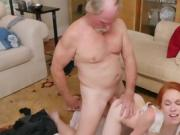 Teen Dolly Little Gets Humped By Dirty Old Man