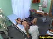 Patient At The Hospital Fucks The Doctor