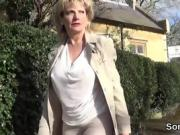 Adulterous uk mature lady sonia displays her giant puppies