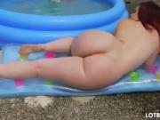 Huge fat ass BBW Virgo Peridot and interracial sex