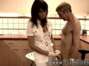 Massage rooms sexy beauty with massive After some brief test