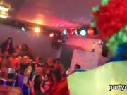 Sexy girls get completely foolish and naked at hardcore party