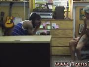 White guy cheats on girlfriend Fucking Your Girl In My PawnSh