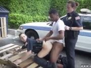 Police grope I will catch any perp with a large black dick, a