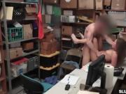 LP Officer fucks Brooke Bliss pussy doggystyle