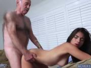 Teen Michelle fucked an aged cock