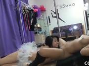 Girls get nude for lesbian fun