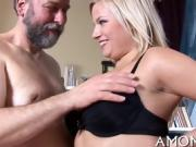 Wet mature pussy gets spoiled