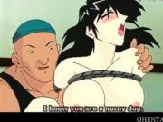 Hentai girl tied to the chair and pussy pumped
