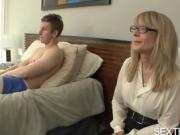 Pornstar Nina Hartley Giving Head and Fucked Hard