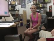 Sexy hottie Sadie Leigh fucked hard in the office