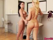 hot brunette fucks lesbian friend lauren