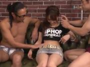 asian babe railed