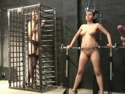 Women In Cages Getting Fucked By Their Master