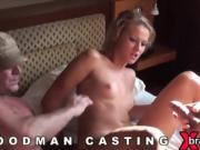 Casting sex kitten goes home after hardcore sex and ass hole