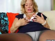 Blonde Moms Go Knuckle Deep In Their Love Holes