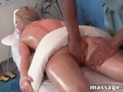 Blonde send tips to masseur she want to fuck