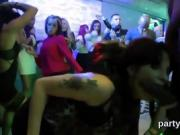 Slutty cuties get entirely wild and naked at hardcore party