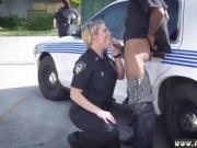 Fake taxi blonde police officer first time Why are we cops if