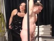 Man Gets Tied Up And Pleasured By His Woman