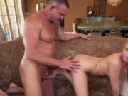Teen Bailey Brooke Gets Drilled By Fathers Colleague