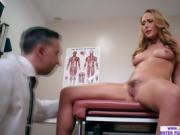 Slutty babe Carter Cruise craves for a doctors cock