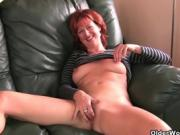 Redhead Hottie Shows Off Her Great Bdoy To Us