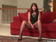 Older Women Shows Off Pussy Nipplies And Hairy Pussy