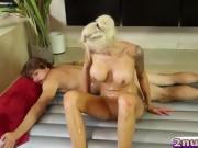Steamy Massage Turns Into Hardcore Pussy Fucking!
