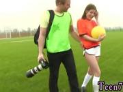 Cum contest and teen hates cum Dutch football player ravaged