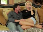 Nina Elle and Brianna Brown share a guy