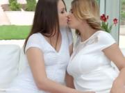 Brunette Ladies Eat Each Other Out And Make Love