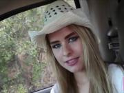 Teen Country Girl Picked Up And Fucked For Money