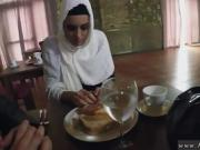 Arab girl bwc Hungry Woman Gets Food and Fuck