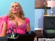 Adult Office Blonde Caught By Her Boss