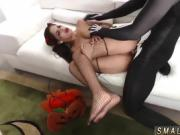 Teen interview hd Bitty Bopper Gets A Scare