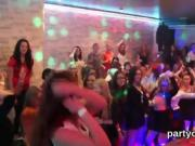 Frisky teenies get fully foolish and nude at hardcore party