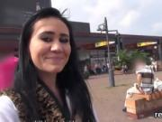 Exquisite czech teenie gets seduced in the mall and nailed in