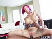 Enticing and busty Anna Bell gets fucked