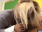 Bigtits blonde teen fucked bbc Brokenteenies
