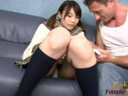 Sexy Asian Chick In School Uniform Gets Railed