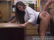 Russian busty brunette amateur PawnShop Confession!