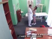 Petite patient came to doctor for a sex