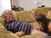 75 year old man gets his dick sucked by 22 year old